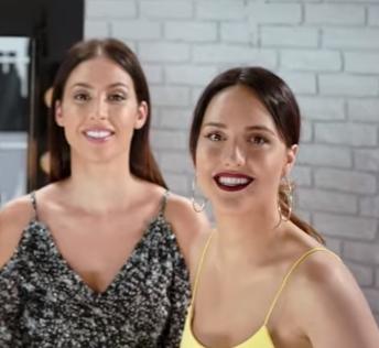 Make-up in the City: Dnevni i večernji look Adriana Lima - Lana i Dunja