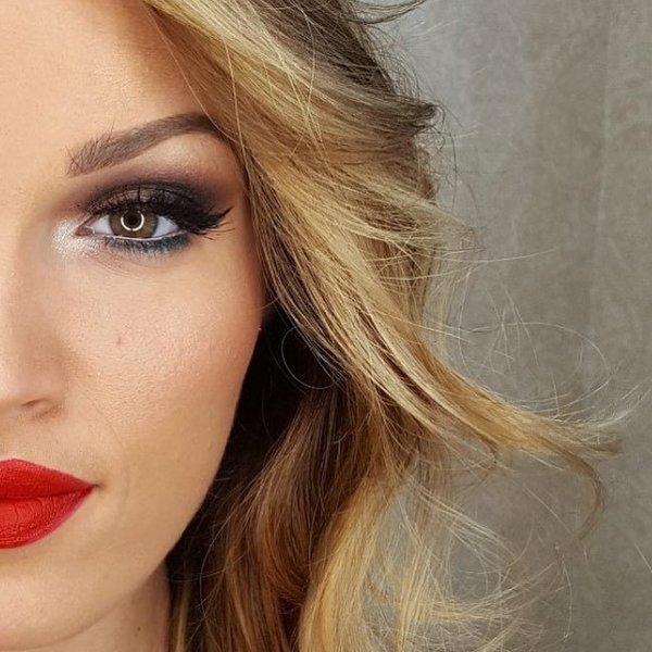 Šminkanje očiju: šminka za spuštene kapke