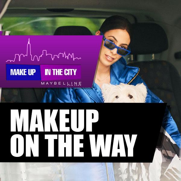 Make Up In The City: Dunja Jovanić u taxi izazovu