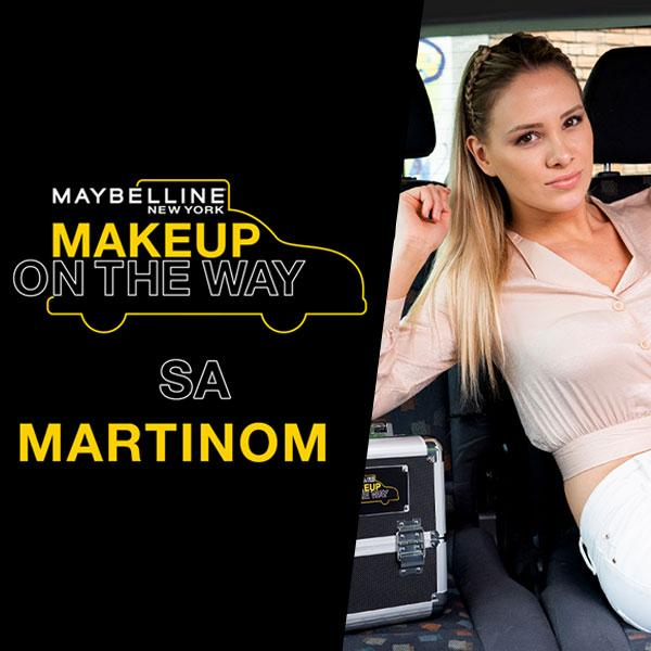 Make Up In The City: Taxi izazov s Martinom