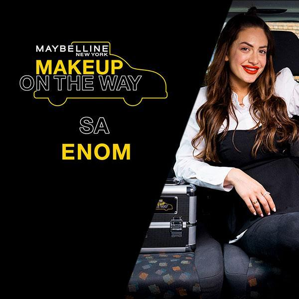 Make Up In The City: Ena Luna u taxi izazovu