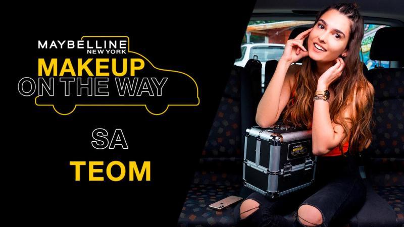Make Up In The City: Taxi izazov s Teom