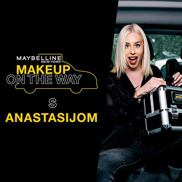 Makeup in the City predstavlja Taxi izazov s Anastasijom