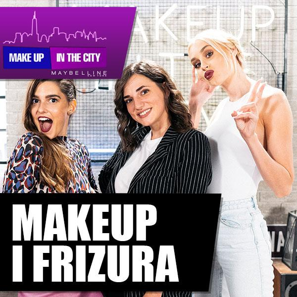 Makeup In The City Šminka i frizura u jednom tutorijalu
