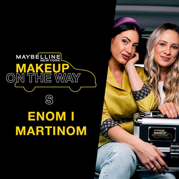 Makeup In The City: Taksi izazov s Enom i Martinom