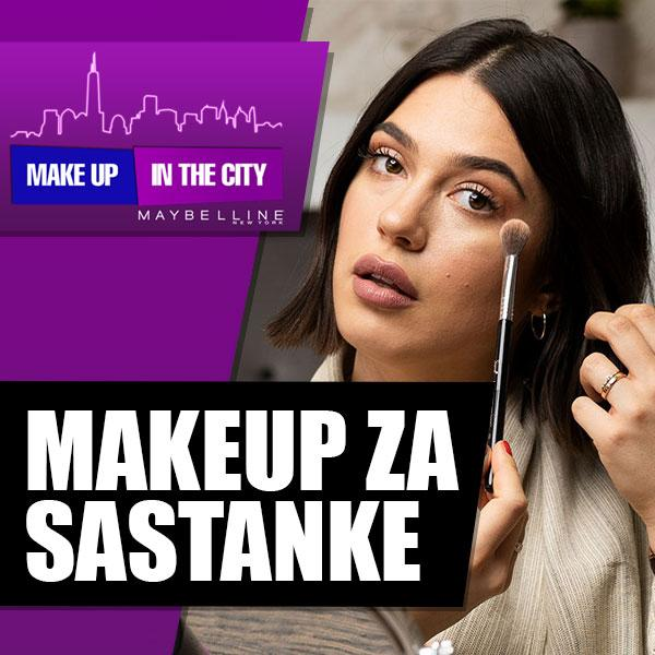 Makeup In The City: Pripremi se za poslovni sastanak s Paulom