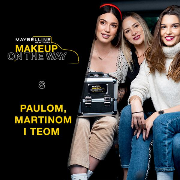 Makeup In The City: Taxi izazov s Paulom, Teom i Martinom