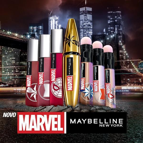 Saznaj sve o Marvel x Maybelline liniji i gdje je možeš naći