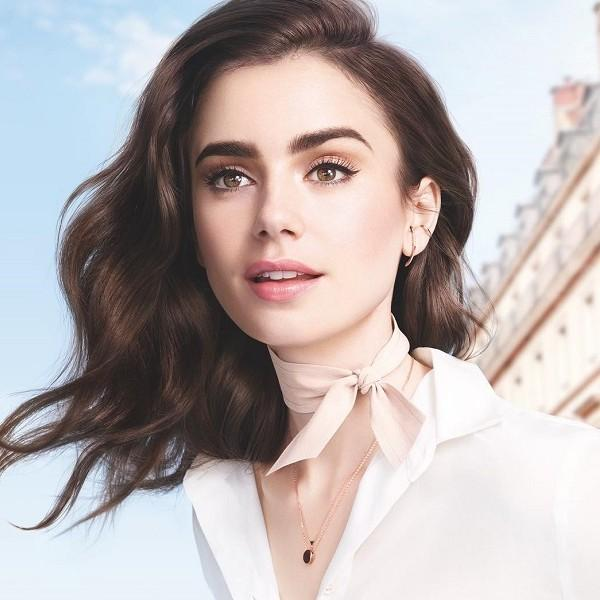 Beauty rutina Lily Collins inspirirana serijom Emily in Paris